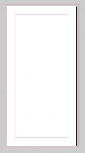 Unser DIN-Lang-Flyer - noch vollkommen blanko